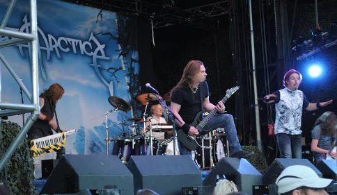 Sonata Arctica - Liverecension från Sabaton Open Air 2015-08-15
