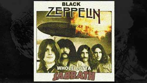 led zeppelin black sabbath wax audio