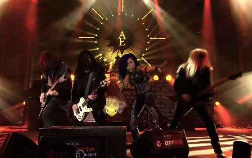 NY VIDEO: Arch Enemy - War Eternal (live) 1