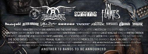 Sex nya akter till Sweden Rock Festival 1