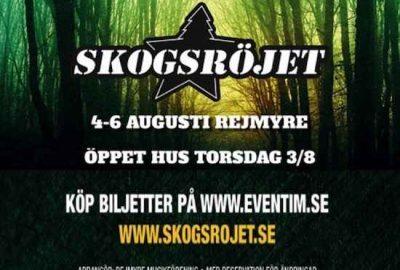 Sveriges kanske trivsammaste festival - Skogsröjet