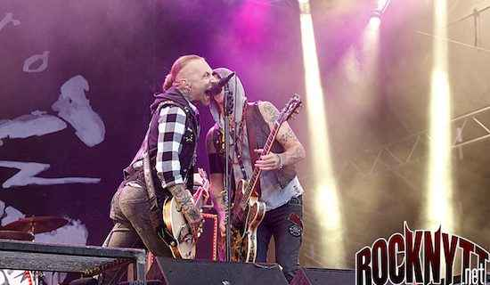 Backyard Babies - Liverecension Skogsröjet 2017-08-05