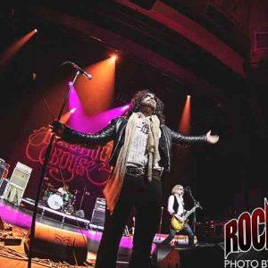 Liverecension: Electric Boys + Eclipse - Cirkus, Stockholm 2017-10-22