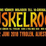 Muskelrock presenterar årets line-up
