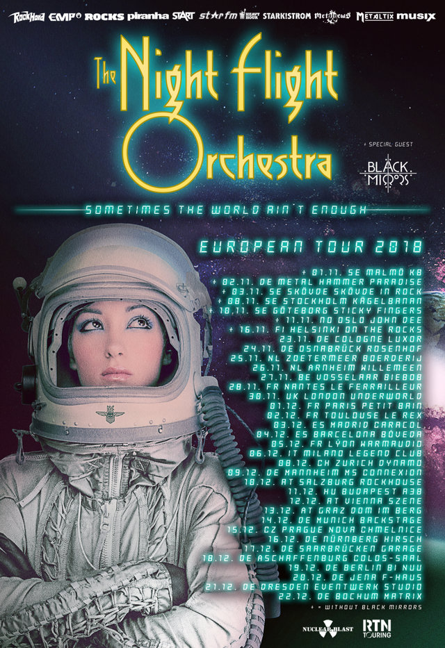 NY LÅT: The Night Flight Orchestra - This Time 3