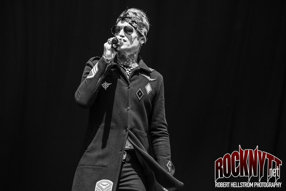 2018-06-07 BUCKCHERRY - Sweden Rock Festival. Foto: Robert Hellström.