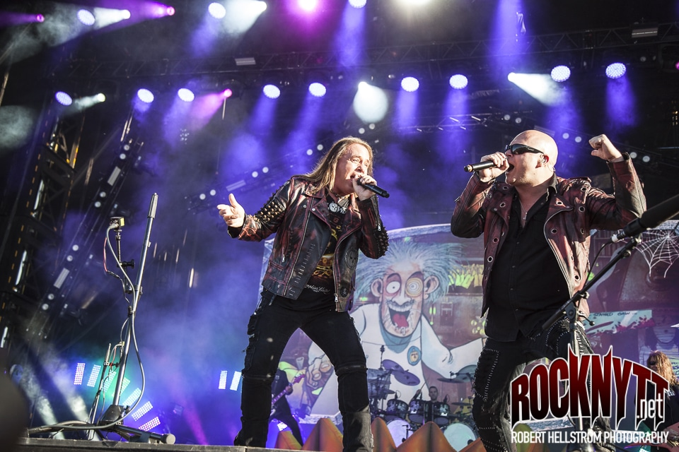 Liverecension: Helloween - Fryshuset Arenan, Stockholm 2018-12-18