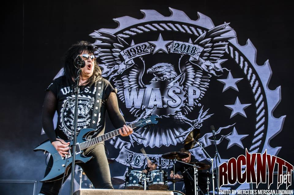 W.A.S.P turnérar i Skandinavien 2020
