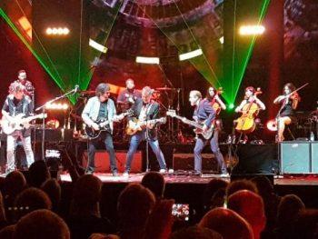 Liverecension: Jeff Lynne's ELO - Ericsson Globe, Stockholm 2018-09-12
