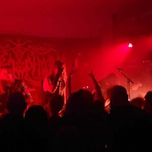 Liverecension: Necrophobic, Blood Of Serpents & Coffin Creep - Club Abraxas 2018-11-02