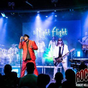 Liverecension: The Night Flight Orchestra - Sticky Fingers, Göteborg 2018-11-10