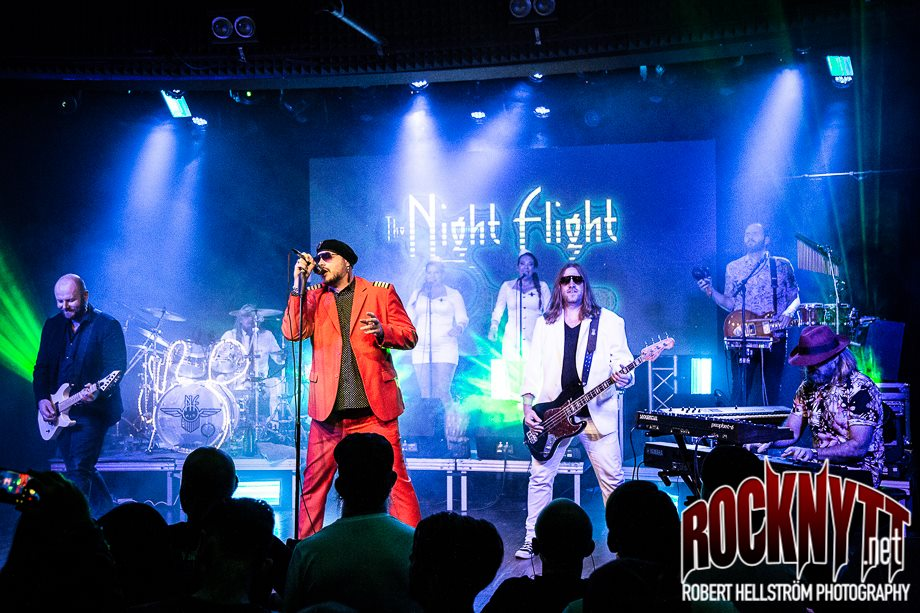 Liverecension: The Night Flight Orchestra - Sticky Fingers, Göteborg 2018-11-10