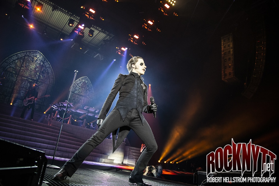 Liverecension: Ghost - Globen Stockholm, 2019-02-23