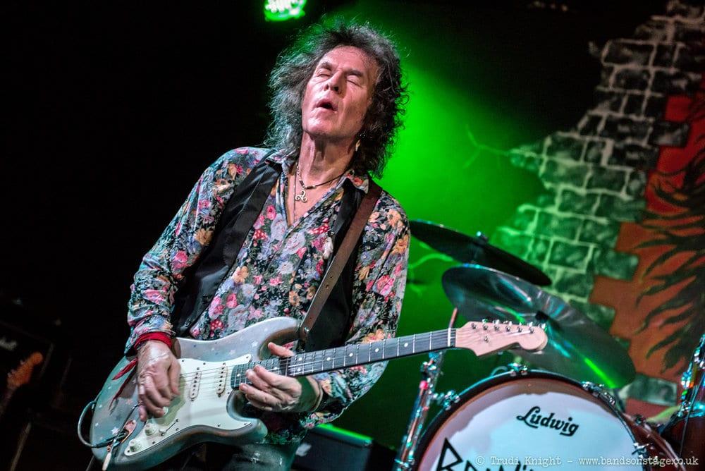 Gitarristen Bernie Tormé har gått bort
