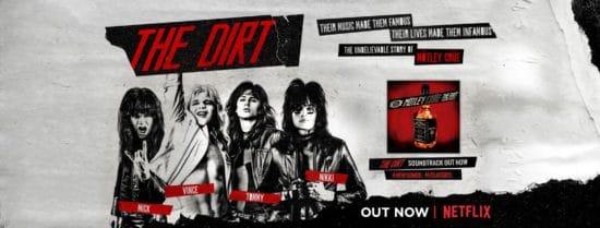 Filmrecension: Mötley Crüe - The Dirt