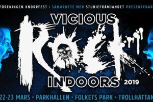 Sista banden till Vicious Rock Indoors klara