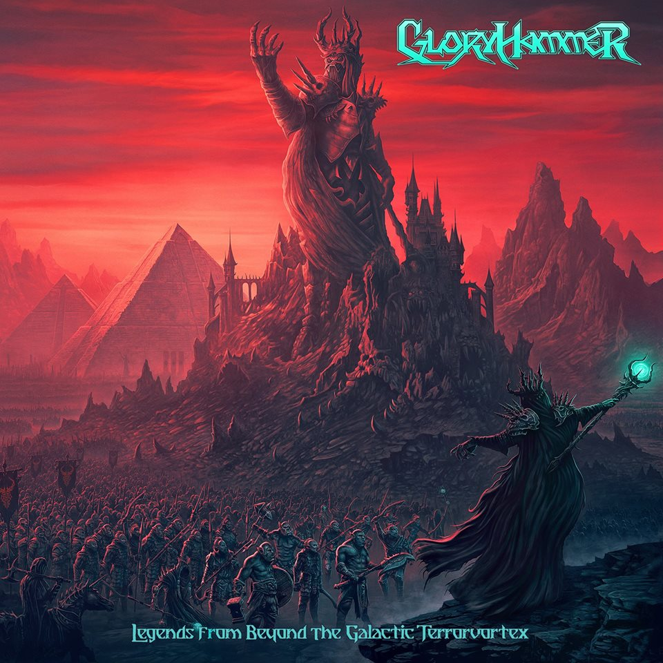NY VIDEO: Gloryhammer - Masters Of The Galaxy (Lyric) 1