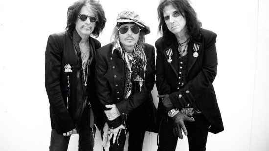 Hollywood Vamires Joe Perry Johnny Depp Alice Cooper