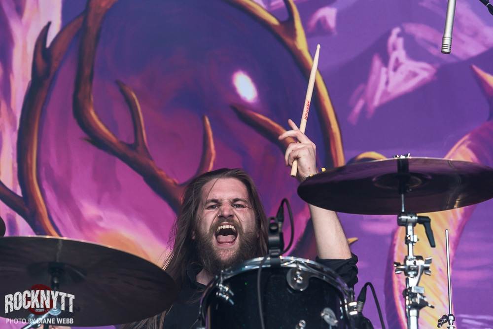 2019-06-05 GATHERING OF KINGS – Sweden Rock Festival. Foto: Diane Webb.