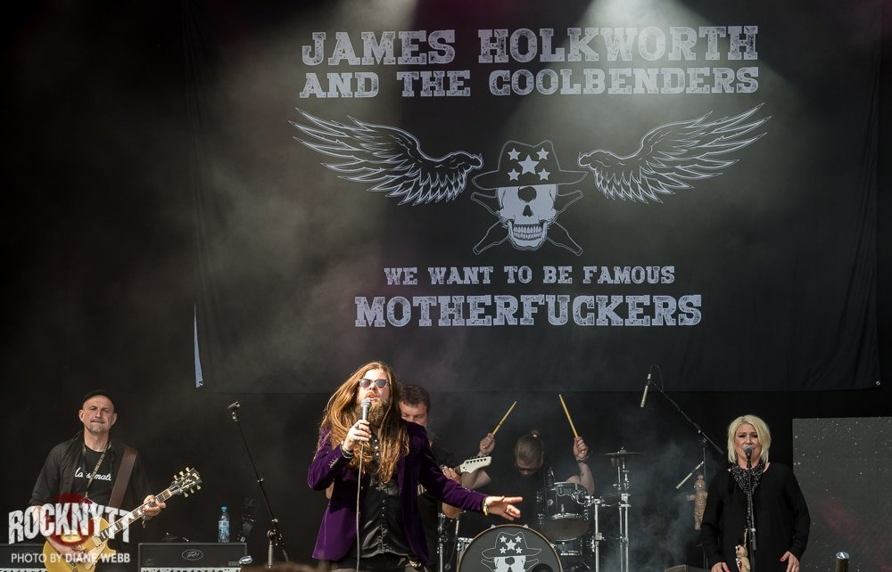 NY VIDEO: James Holkworth and the Coolbenders - A Merry Jingle
