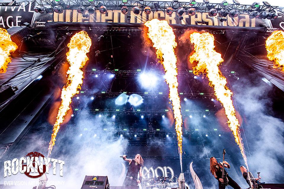 Amon Amarth Sweden Rock Festival