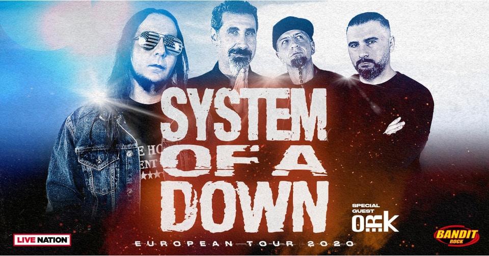 System Of A Down till Sverige