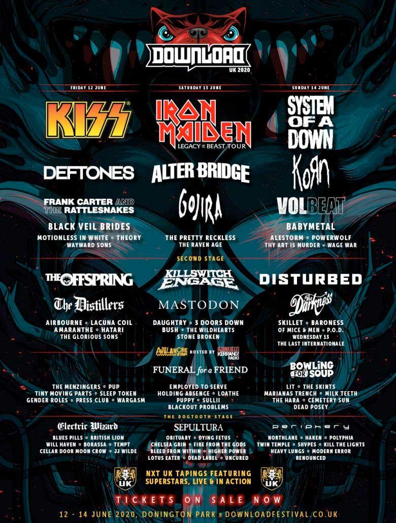 Download Festival 2020 ställs in 1