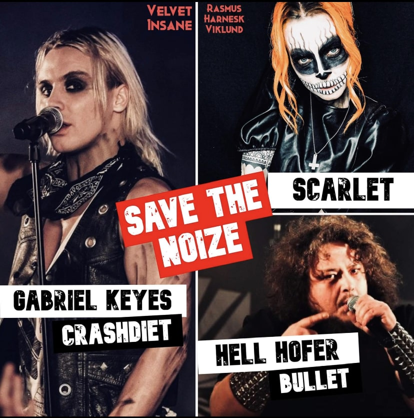 Save The Noize släpper nya akter