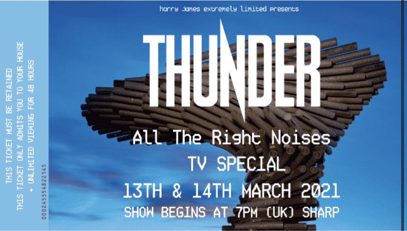 Thunder streamar liveshow + Q&A!
